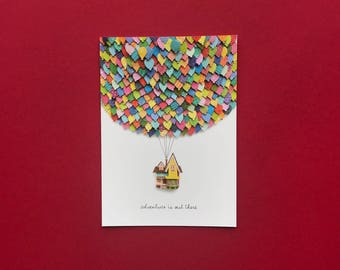 Up House Print - 5x7