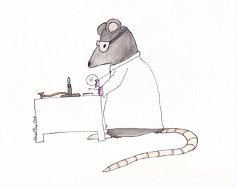 Lab Rat Research Notecard