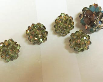 Bundled Crystal Beads ...  your choice ...   6mm X 8mm  or 4mm x 6mm