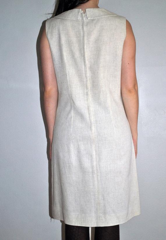 60's Mod Dress with Peter Pan Collar - image 2