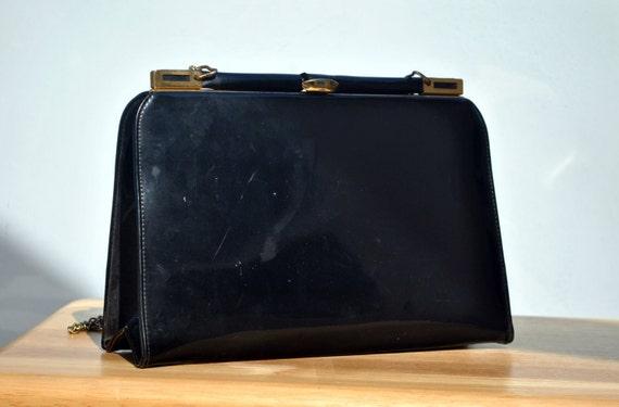 Vintage Marchioness Black Evening Bag