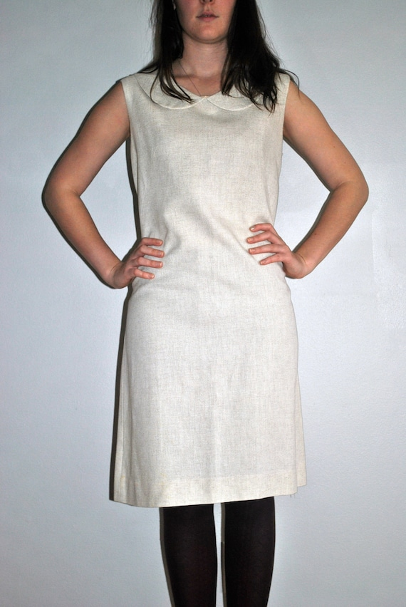 60's Mod Dress with Peter Pan Collar