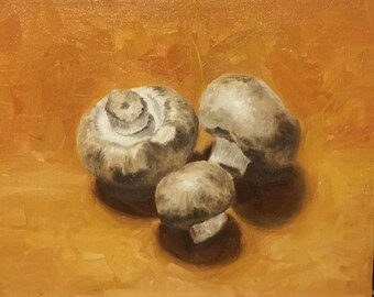 Original Oil Painting - Baby Bellas