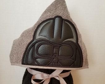 Dark Vader Hooded Towel