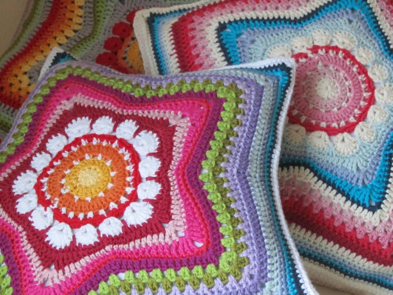 5-Pointed Star Pillow PDF-Pattern image 0