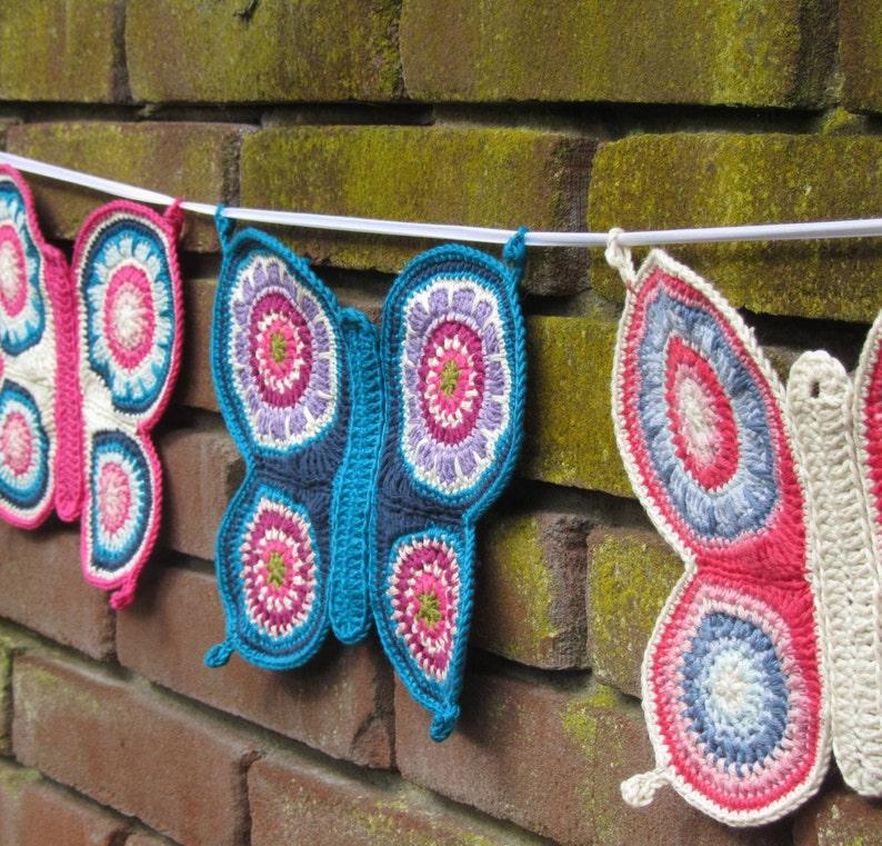 Crochet Butterfly Pattern PDF-pattern image 0