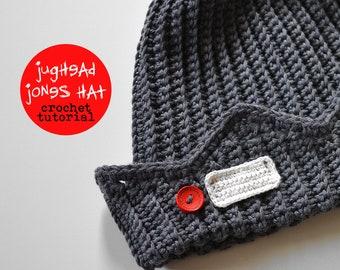 Jughead Jones Beanie Crochet Pattern, Whoopee Cap Crochet Pattern, Riverdale Hat Crochet Pattern, Jughead Jones Hat Crochet Pattern