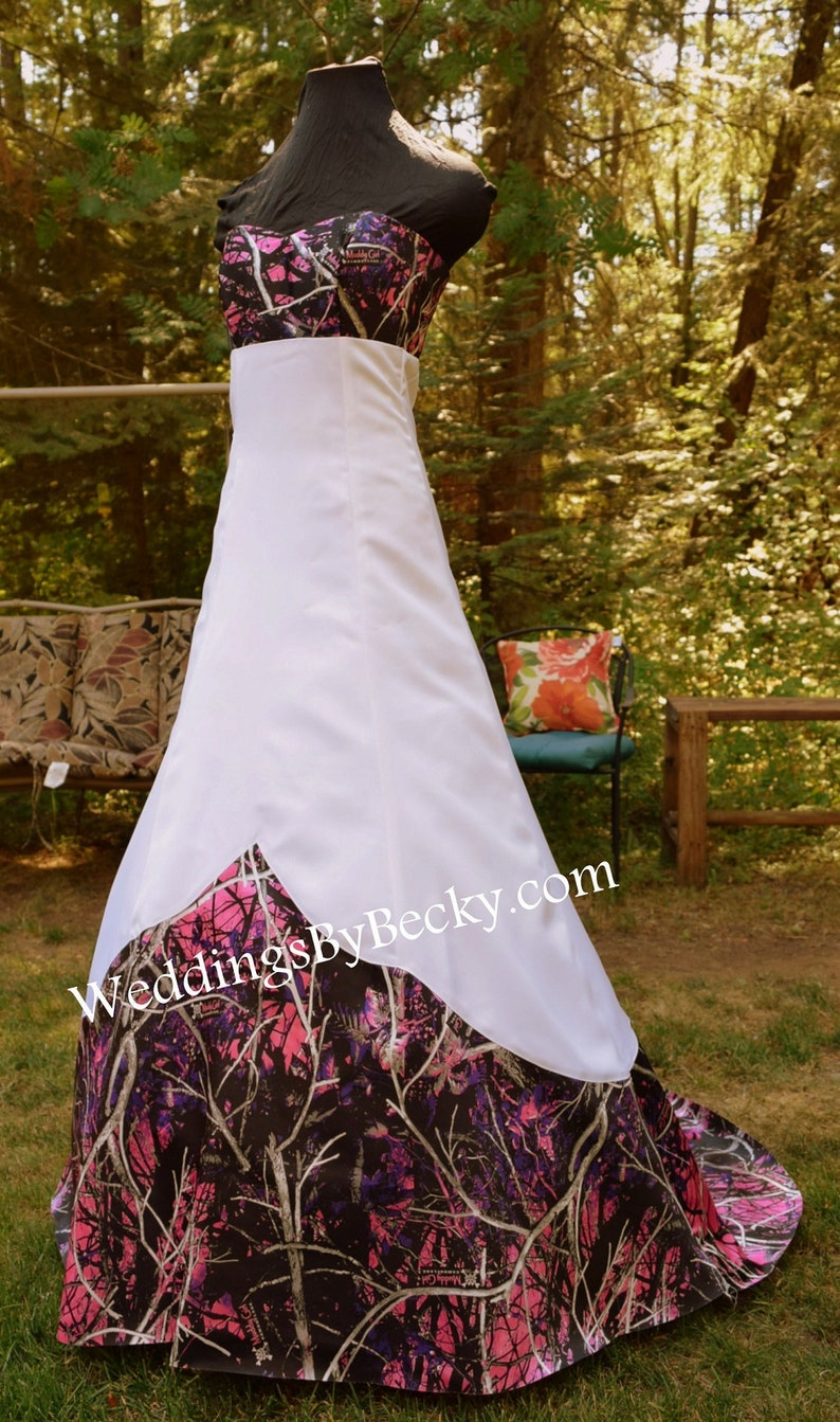74ad2ea9f Muddy Girl Camo Wedding dress Sierra Made ONLY in   Etsy
