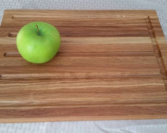 Handmade in Vermont Wooden Cutting Board | Our Elle Design in Mixed Oak