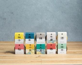 3 Soaps  Japanese flavor, Organic ingredient,