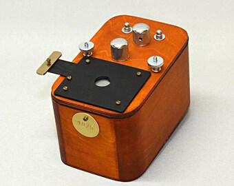 Vermeer 6x12cm anamorphic pinhole camera