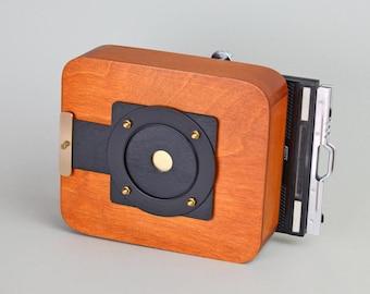 Vermeer 4x5 inch pinhole camera De Luxe