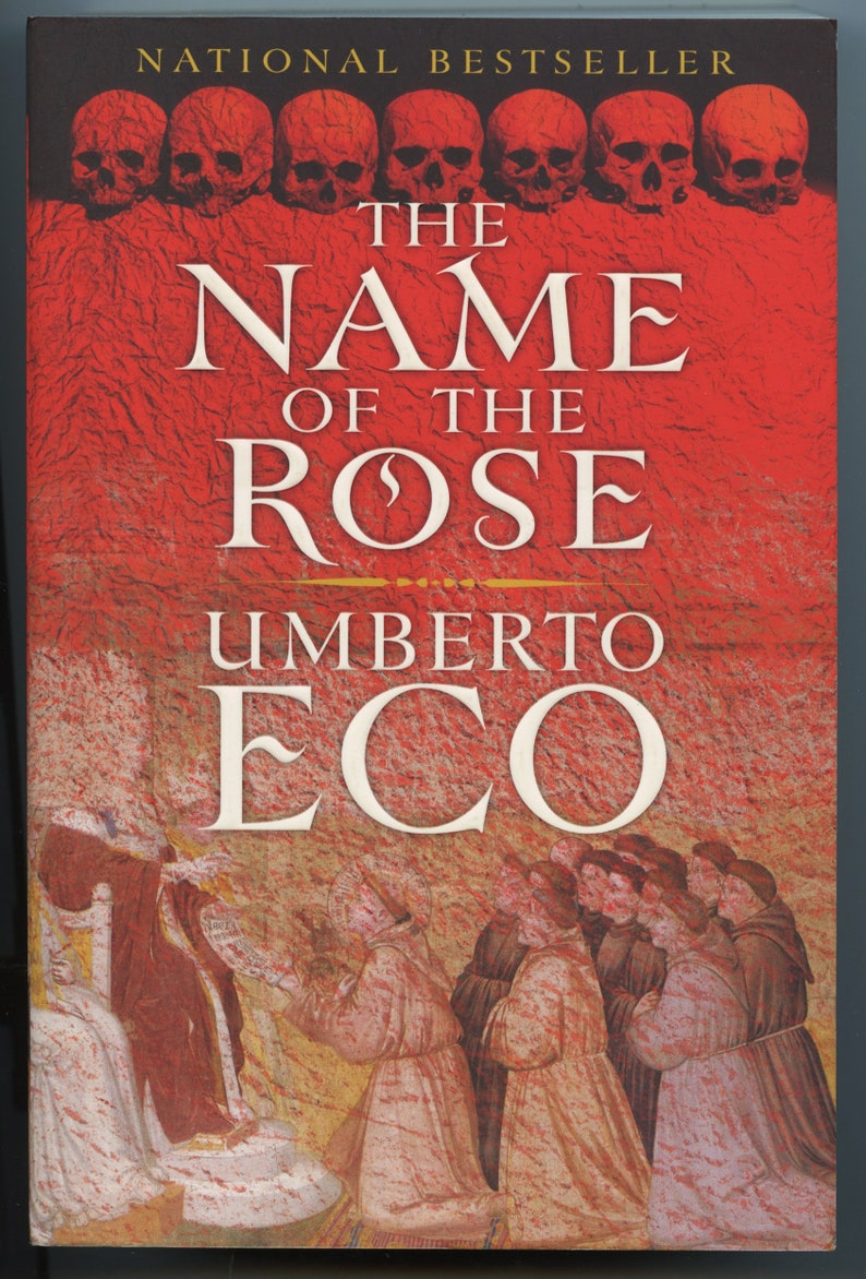 The Name of the Rose by Umberto Eco Occult / Esoteric   Etsy