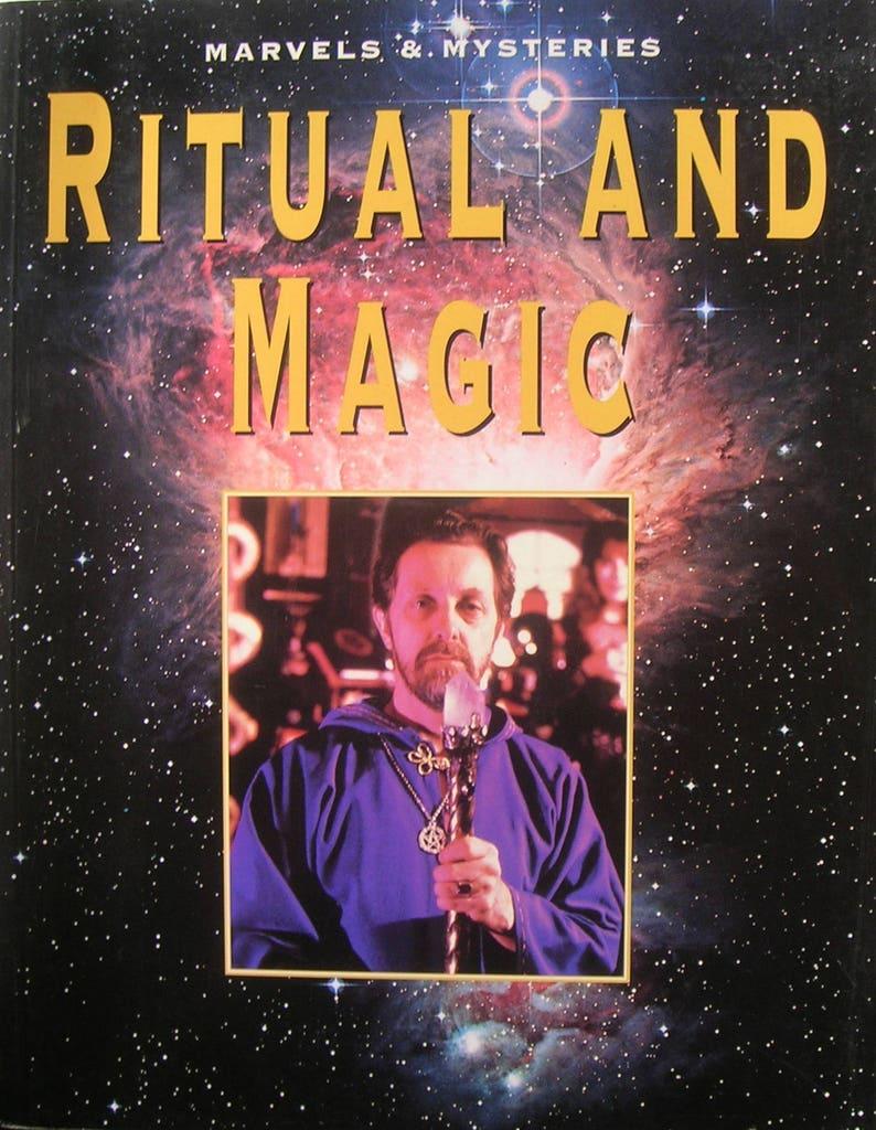 RITUAL and MAGIC Book - Sorcery, Magic, Occult, Esoteric, Secret Societies,  Alchemists, Mystics
