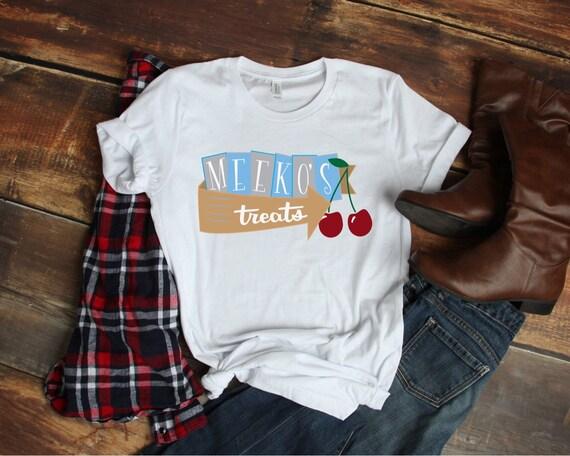 Meeko's Treats T Shirt, Women's Disney Shirt, Disney Princess Shirt, Disney Shirt, Pocahontas Shirt, Shirt for Disney, Retro Disney