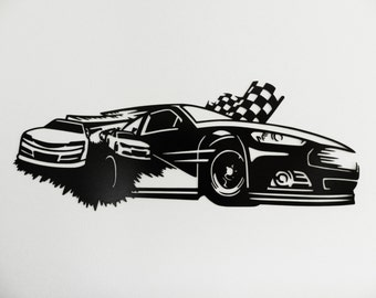 Stock Car Racing Metal Wall Art : ford mustang metal wall art - www.pureclipart.com