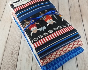 Baby Boy Burp Cloth Set - Vikings
