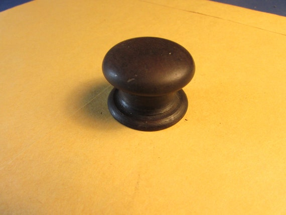 Scarce set of TEN Period Wooden Sheraton Empire Victorian Drawer Knobs Mahogany Walnut Suitable for 1800-1850 Vintage Furniture Chests 6358