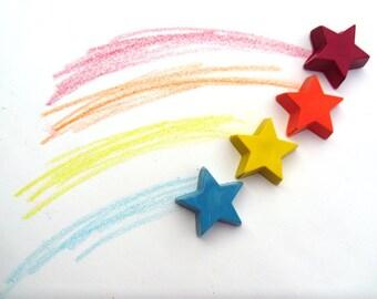 Shooting Stars 4 crayon set by Scribblers Crayons