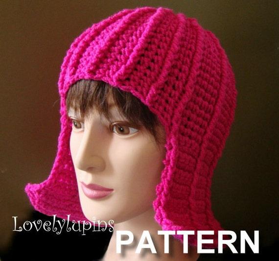 Hat Pattern Hair Hat Crochet Pattern Wig Hat Easy To Make Etsy