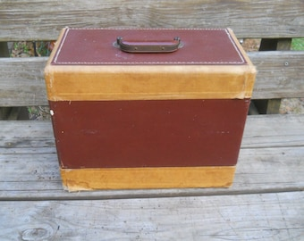 Vintage Singer Sewing Machine carrying case--Fits a Singer 99 Short Bed and others