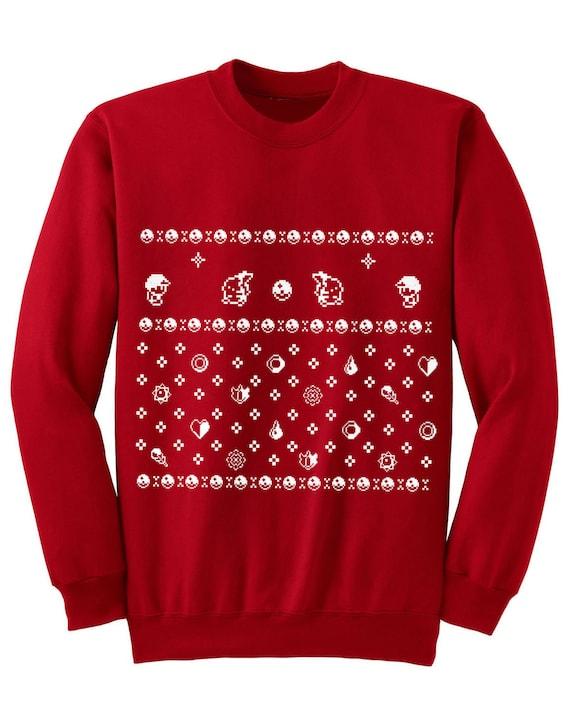 Pokemon Christmas Sweater.Ugly Christmas Pokemon Sweater Inspired Sweatshirt Unisex Sizes