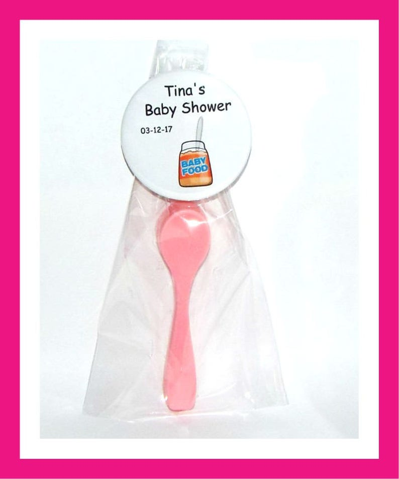 24 Baby Spoon Soap Favors,Baby Shower Favors,Personalized Baby Shower Button Pin,Birthday Party,Its a Girl,Its a Boy