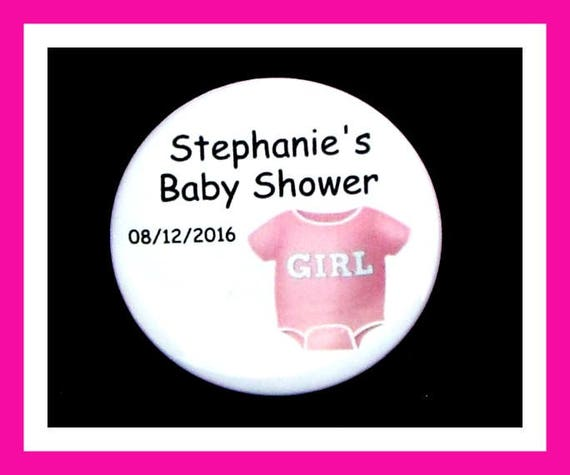 Baby Shower Onesie Favors,Personalized Button,Favor Tag,Its a girl,Its a Boy,Party Favor,Birthday Party Favors,Personalized Favors,Set of 10