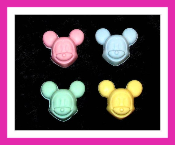 24 Mouse Soap Favors,Baby Shower Favors,Birthday Party Favors,Personalized Button Pin,Kids Soap,Cartoon,Its A Boy,its a girl