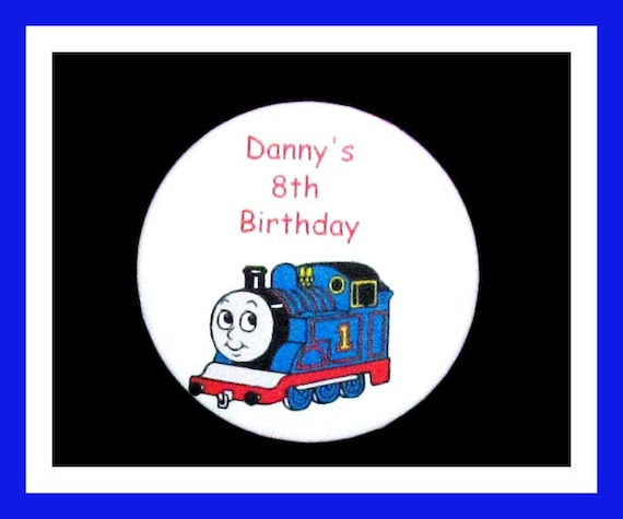 Birthday Party Favor Personalized Button, Train Pin Favor,School Favor,Kid Party Favor,Boy Birthday,Girl BirthdayPin,Favor Tag Set of 10