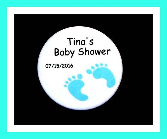 Baby Shower ITS A BOY FEET Favors,Personalized Buttons,Favor Tags,Its a Boy,Party Favors,Birthday Party Favors,Personalized Favors,Set of 10
