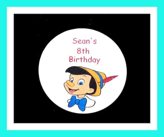 Birthday Party Favor Personalized Button, Cartoon Pin Favor,School Favor,Kid Party Favor,Boy Birthday,Girl BirthdayPin,Favor Tag Set of 10