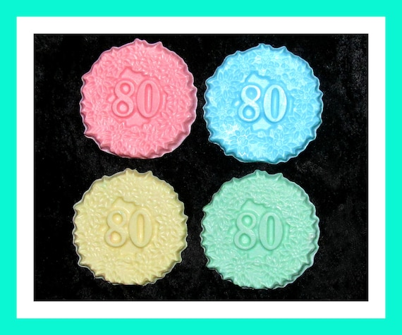 80th Birthday Favors,80th Anniversary Favors, Birthday Party Favors,Bulk Party Favors,Her Birthday Favors Set of 24