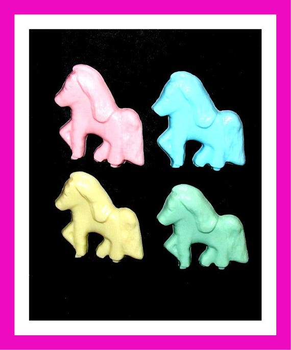 24 Pony Horse Soap Favors,Birthday Party Favors,Baby Shower Favors,Personalized Button Pin,Girl Birthday,Boy Birthday