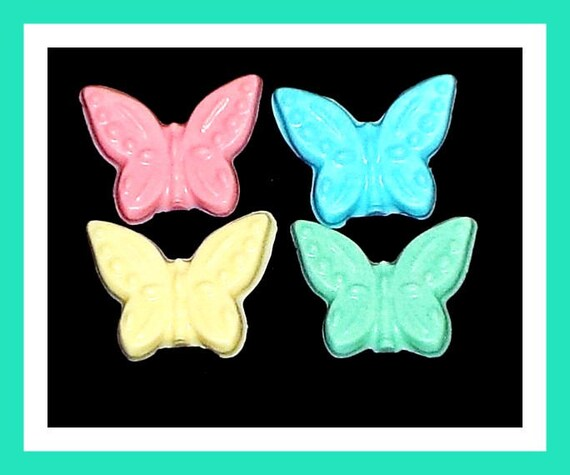 24 Butterfly Soap Favors,Baby Shower Favors,Birthday Party Favors,Personalized Button Pin,Bug Favors,Kid Soap