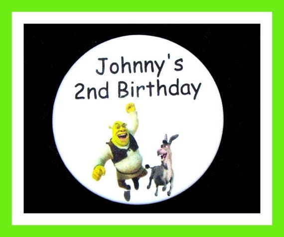 Birthday Party Favors, Personalized Button,Cartoon Pin Favor,School Favors,Kids Party Favors,Boy Birthday,Girl Birthday,Pins, Set of 10