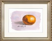 Clementine Watercolor Giclée Print