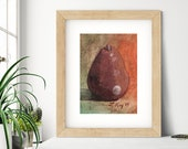 Autumn Pear Oil Painting Giclée Print