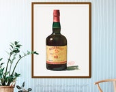 Bottle of Redbreast Irish Whiskey Giclée Watercolor Print