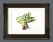 Corn on the Cob Watercolor Giclée Print