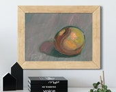 Autumn Apple Oil Painting Giclée Print