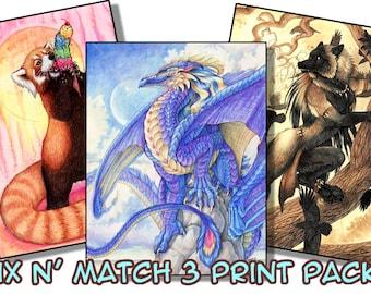 Mix N' Match 3 Print Pack