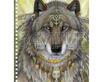 Dire Wolf Shaman Notebook