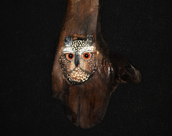 Wood  Carving - OOAK -  Hand Carved and Sculpted Wall Art