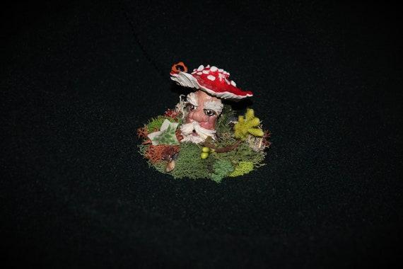 Fairy Garden Mushroom Man