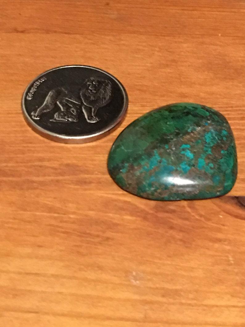 Chrysocolla Cabochon 17.5 Grams