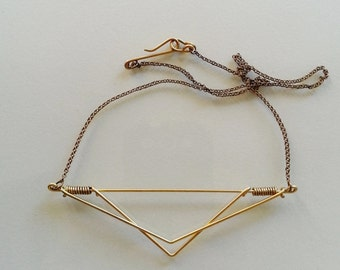 2 Angles Necklace