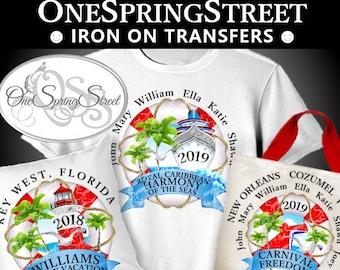 Cruise Shirt Iron On Etsy