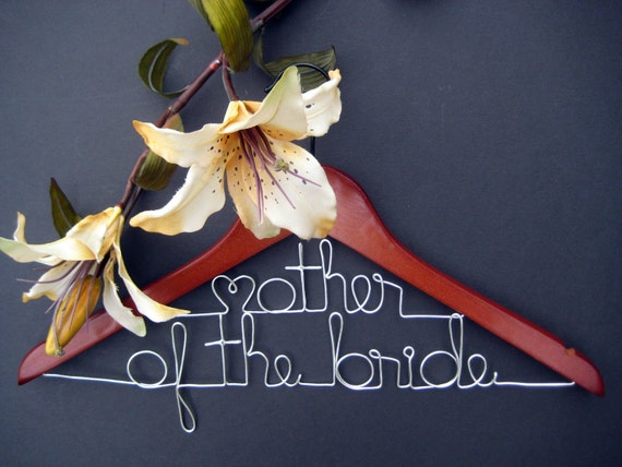 Mother Of The Bride Personalized Hangers Wedding Hangers Etsy