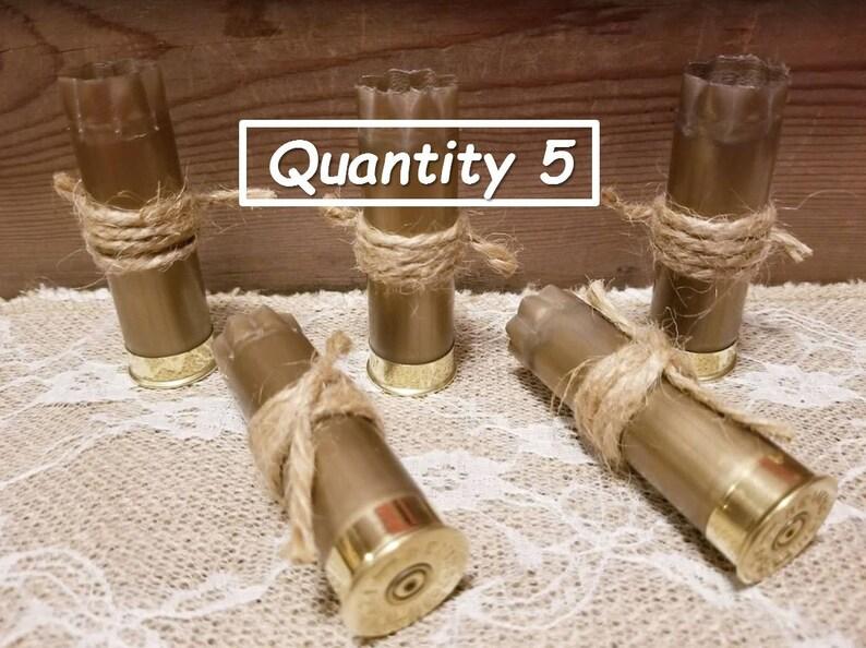 Wedding Boutonniere  Empty Shotgun Shell  Rustic Boutonniere  Gold Boutonniere  Bullet Boutonniere  Fall Boutonniere  Shotgun Hulls